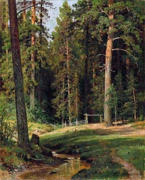 Forest Edge, 1884 by Ivan Shishkin | Painting Reproduction