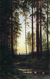 Dusk, 1883 by Ivan Shishkin | Painting Reproduction
