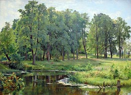 In the Park, 1897 by Ivan Shishkin | Painting Reproduction