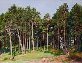 Pine Forest, Merrekyul | Ivan Shishkin | Gemälde Reproduktion