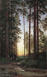 Edge of the Forest, 1879 von Ivan Shishkin | Gemälde-Reproduktion