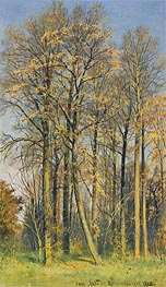 Rowan Trees in Autumn, 1892 von Ivan Shishkin | Gemälde-Reproduktion