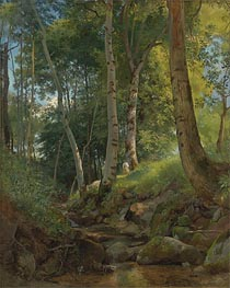 The Brook, undated von Ivan Shishkin | Gemälde-Reproduktion