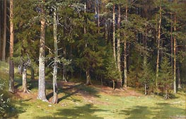 The Clearing, 1878 von Ivan Shishkin | Gemälde-Reproduktion