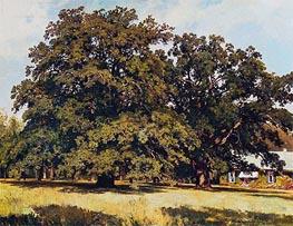 Mordvinovskie Oaks, 1891 von Ivan Shishkin | Gemälde-Reproduktion