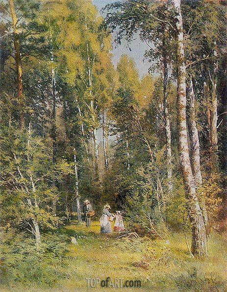 Birch Grove, 1878 | Ivan Shishkin | Painting Reproduction