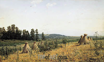 Polesye Landscape, 1884 | Ivan Shishkin | Painting Reproduction