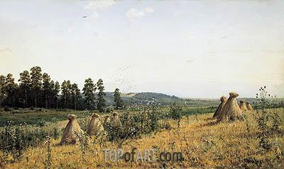 Polesye Landscape, 1884 | Ivan Shishkin | Gemälde Reproduktion