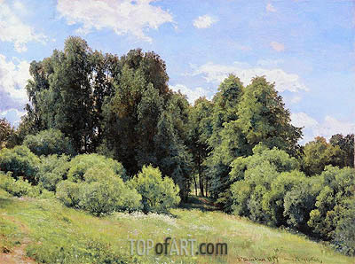 Ivan Shishkin | The Glade, 1897
