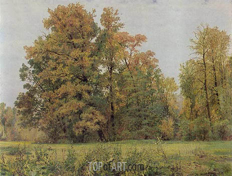 Autumn, 1892 | Ivan Shishkin | Painting Reproduction