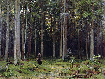 Ivan Shishkin | Countess Mordvinov's Forest, 1891