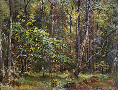 Forest, 1887 | Ivan Shishkin| Painting Reproduction