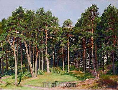 Ivan Shishkin | Pine Forest, Merrekyul, 1894