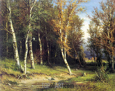 Forest Before the Storm, 1872 | Ivan Shishkin| Painting Reproduction