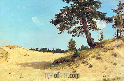 Ivan Shishkin | Pine on the Sand, 1884