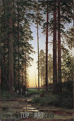 Edge of the Forest, 1879 | Ivan Shishkin | Gemälde Reproduktion