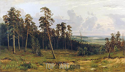 The Edge of the Forest, 1878 | Ivan Shishkin| Painting Reproduction