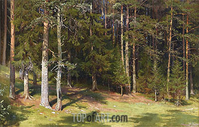 The Clearing, 1878 | Ivan Shishkin| Painting Reproduction