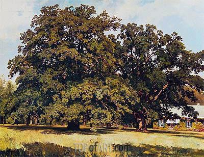 Ivan Shishkin | Mordvinovskie Oaks, 1891