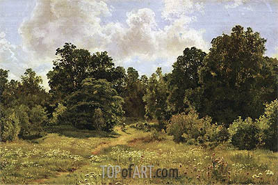 Ivan Shishkin | Edge of Deciduous Woods, 1895