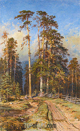 Pine Forest, 1897 | Ivan Shishkin | Painting Reproduction