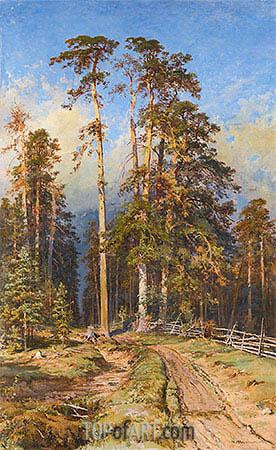 Ivan Shishkin | Pine Forest, 1897