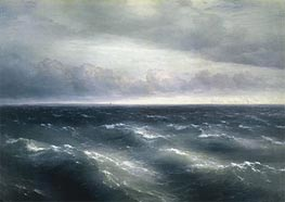 The Black Sea, 1881 by Aivazovsky | Painting Reproduction