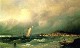 View of Theodosia | Aivazovsky | Painting Reproduction
