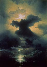 Chaos: Creation of the World, 1841 by Aivazovsky | Painting Reproduction