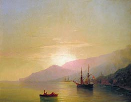 Ships at Anchor | Aivazovsky | outdated