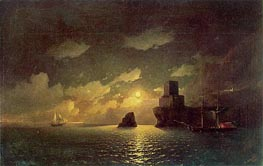 Moonlight Night | Aivazovsky | Painting Reproduction