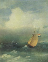 Storm at Sea | Aivazovsky | Painting Reproduction