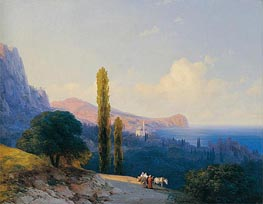 The Coast of the Dardanelles | Aivazovsky | Painting Reproduction