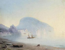 The Ayu-Dag, Indistinct by Aivazovsky | Painting Reproduction