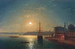 Golden Horn, Turkey | Aivazovsky | Painting Reproduction