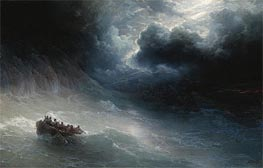 The Wrath of the Seas | Aivazovsky | Painting Reproduction