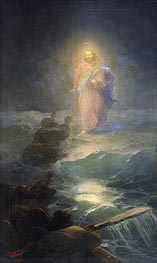 Walking on the Water, 1888 by Aivazovsky   Painting Reproduction