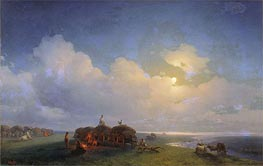 Chumaks on Rest | Aivazovsky | Painting Reproduction