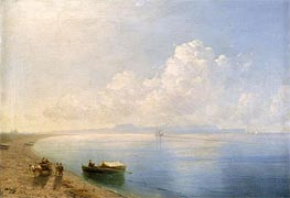 Calm Waters, 1880 by Aivazovsky | Painting Reproduction