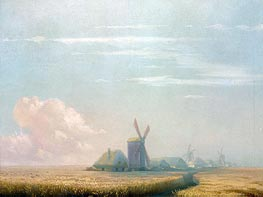 Ukrainian Harvest, 1857 by Aivazovsky | Painting Reproduction