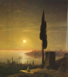 Constantinople, 1848 by Aivazovsky | Painting Reproduction