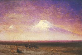 Mount Ararat, 1885 by Aivazovsky | Painting Reproduction