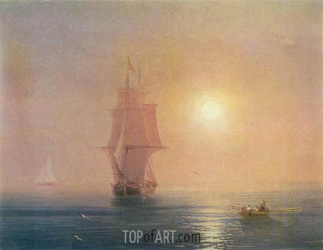Aivazovsky | The Sea, 1878