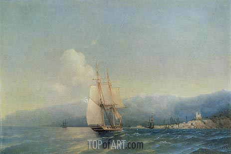 The Crimea, 1852 | Aivazovsky | Painting Reproduction
