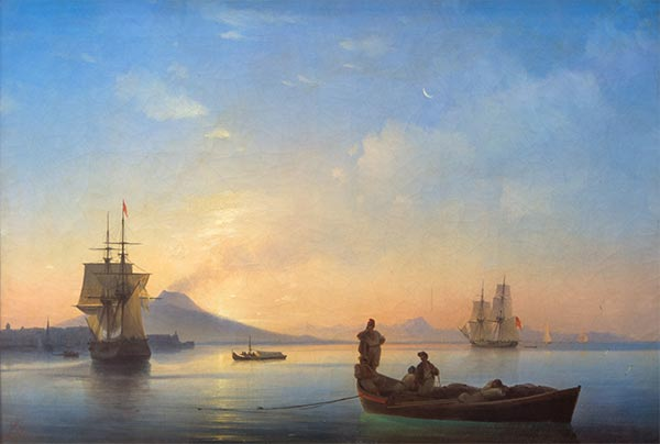 Aivazovsky | The Bay of Naples in the Morning, 1843