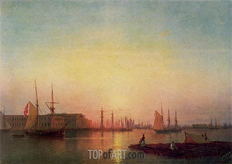 Aivazovsky | The St. Petersburg Stock Exchange, 1847