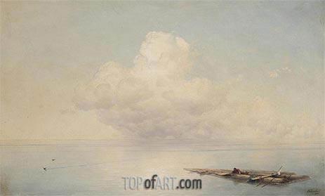 Aivazovsky | The Survivor, 1888