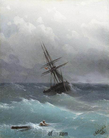 Aivazovsky | The Storm, 1881