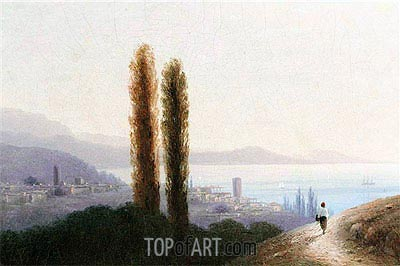 View of Crimea, 1889 | Aivazovsky| Painting Reproduction