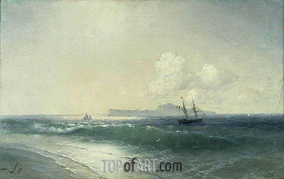 Tallinn Harbour, 1898 | Aivazovsky| Painting Reproduction